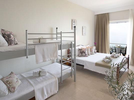 Aurora Hotel Bedroom