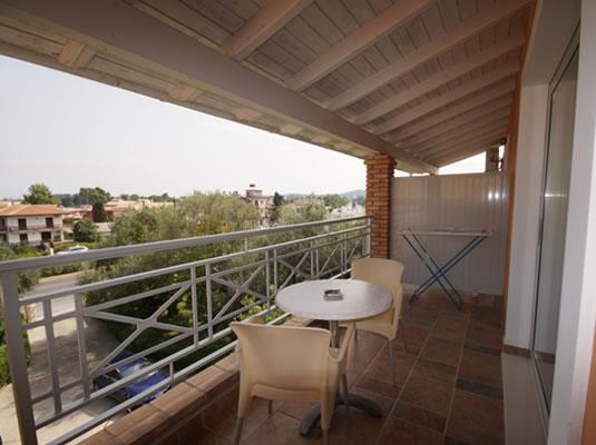 Omirico Studios Balcony